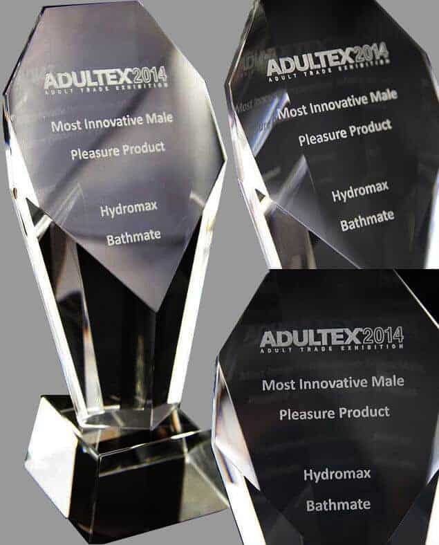 Bathmate Hydromax Adultex 2014 Most Innovative Male Pleasure Product 2014