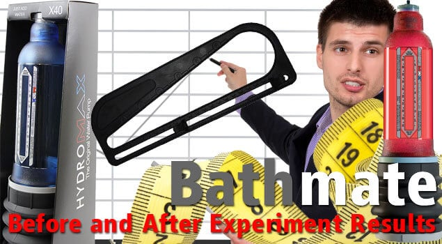 Bathmate Hydro Pump Before and After Results Experiment Conducted On Different Groups of Men