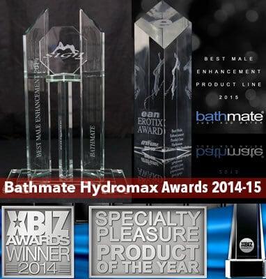 Bathmate Hydromax Awards 2014-2015