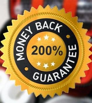 Double Money Back Guarantee