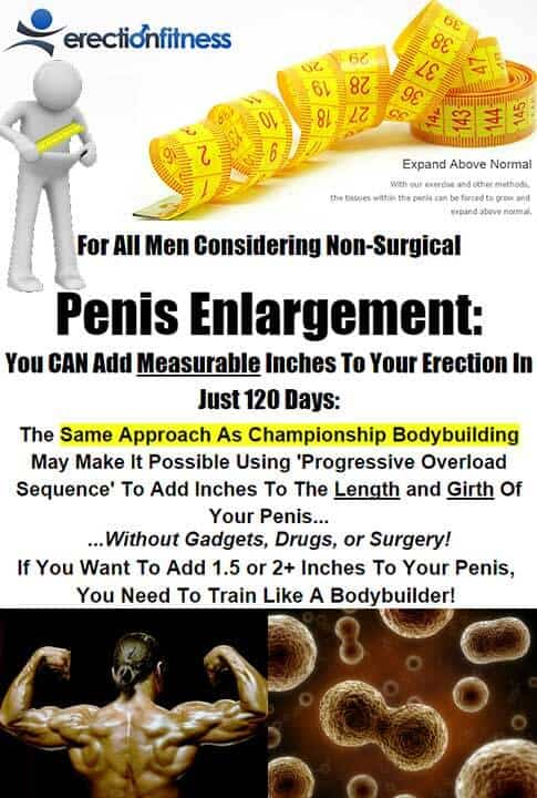 Erection Fitness Penis Enlargement Program