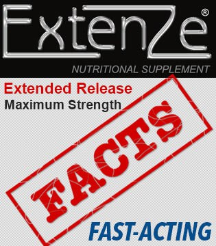 Extenze Extended Release Facts