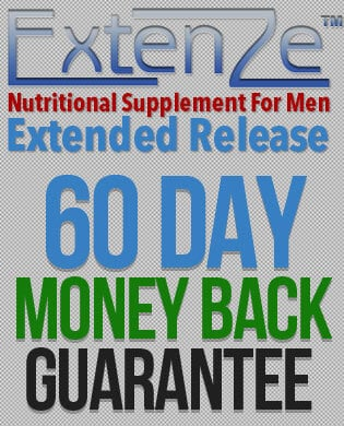 Extenze Money-Back Guarantee