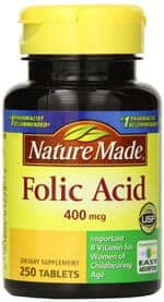 Folic Acid By Nature Made