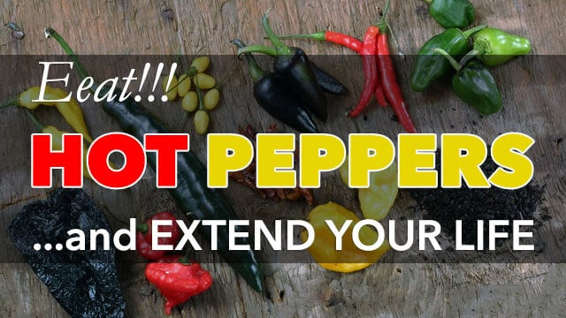 Eating Hot Chili Peppers Could Help Extends Your Life