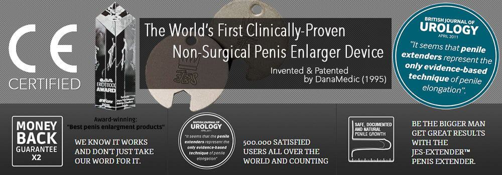 JES Extender Is The World's First Clinically-Proven Natural Penis Enlargement Device by DanaMedic