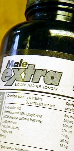 Male Extra Ingredients Additional Information