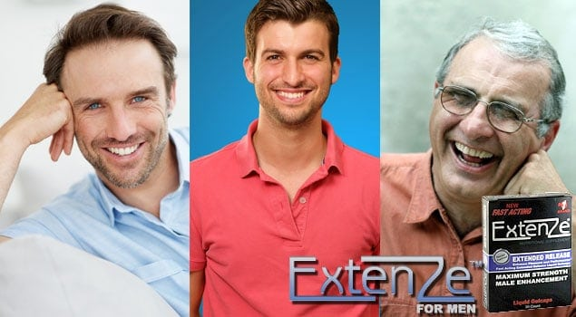 Men Choose ExtenZe Pills