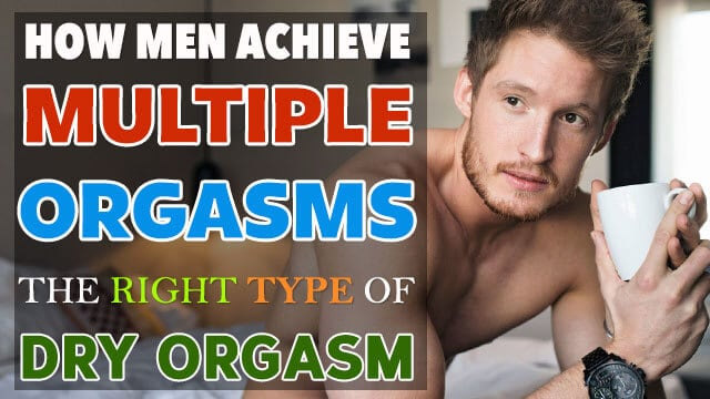 Men achieve multiple orgasms