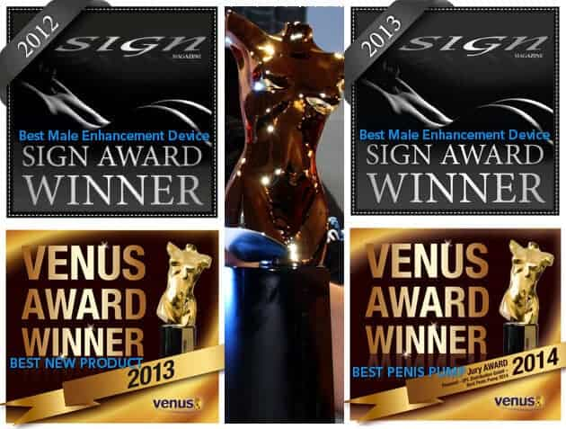 Penomet Awards – Best Male Enhancement Device 2013 and Best Penis Pump 2014