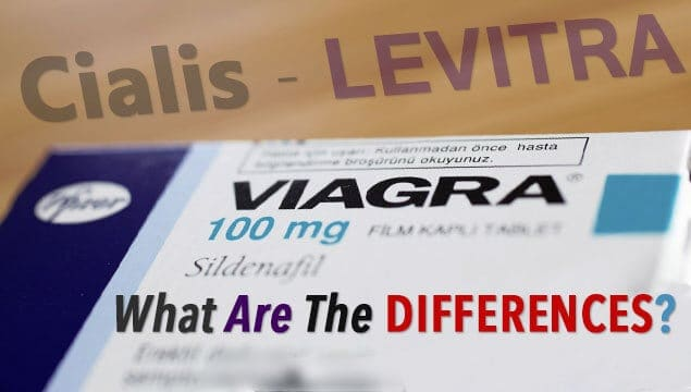 Quick Overview On Differences Between Viagra, Cialis, and Levitra Sex Pills