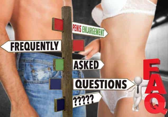 Answers To Commonly Asked Questions In Penis Enlargement and Male Virility Enhancement