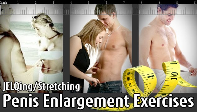 Natural Penis Enlargement Exercise Routines