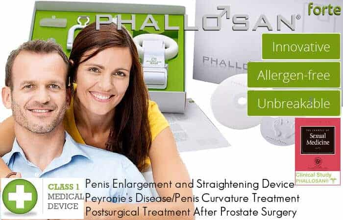 Phallosan Forte Penis Enlargement and Straightening Device Is A Clinically Proven System