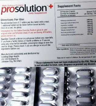 ProSolution Plus Formulation