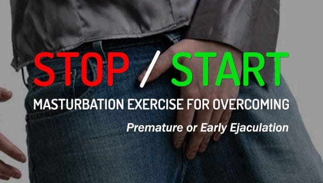 Mastering Ejaculation Control With Stop-Start Technique