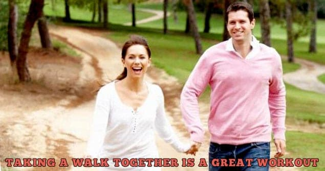 Walking Outdoors Good Workout