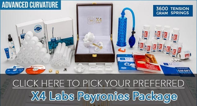 X4 Labs Peyronies Editions