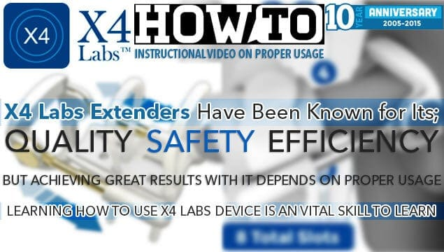 How To Use X4 Labs Penis Extender? Learn How To Effectively and Safely Wear The Device To Maximize Potential Gains