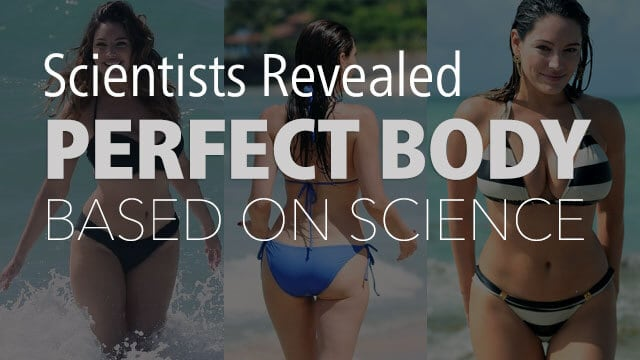 Science Reveals The Ideal Body Type Of A Woman And Officially Declare Who Owns That Perfect Body